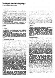 AGB Neuwagen-Verkaufsbedingungen ZDK